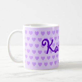 Katelyn in Purple mug