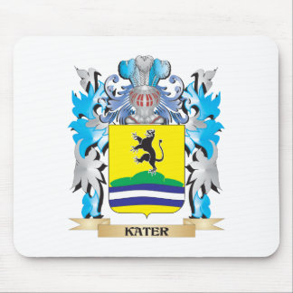 Kater Coat of Arms - Family Crest Mouse Pad