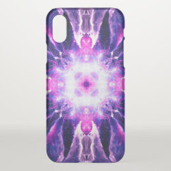 Uncommon iPhone X Clearly™ Deflector Case with Bernese Mountain Dog Phone Cases design