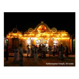 Katharagama temple postcard