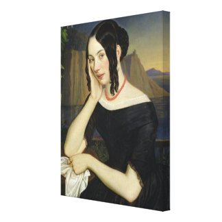 Katharina Kern of Sterzing, 1842 Canvas Print