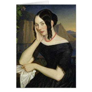 Katharina Kern of Sterzing, 1842 Card