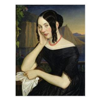 Katharina Kern of Sterzing, 1842 Postcard