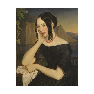Katharina Kern of Sterzing, 1842 Wood Wall Art