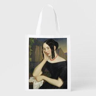 Katharina Kern of Sterzing, 1842 Grocery Bags