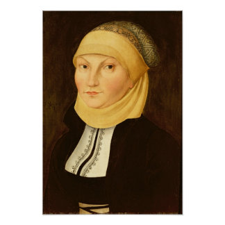 Katharina Luther , 1528 Poster