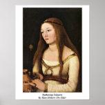 Katharina Schwarz de Hans Holbein la anciano Impresiones