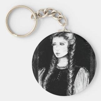 Katharina Siegel (Dracula's Lover) Basic Round Button Keychain