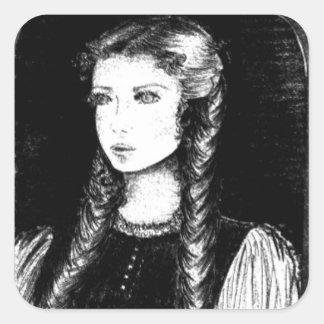 Katharina Siegel (Dracula's Lover) Square Sticker