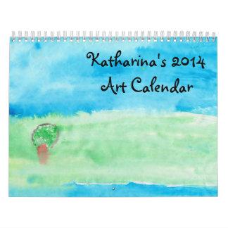 Katharina's 2014 Art Calendar