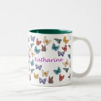 Katharine Two-Tone Coffee Mug