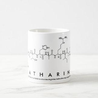 Katharine peptide name mug
