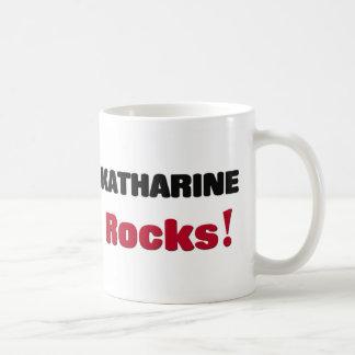 Katharine Rocks Classic White Coffee Mug