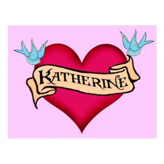 Katherine - camisetas y regalos de encargo del postal