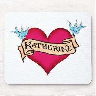 Katherine - camisetas y regalos de encargo del tat alfombrillas de raton