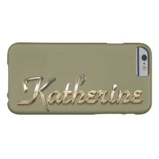 Katherine Custom Monogram iPhone 6/6s Case Barely There iPhone 6 Case
