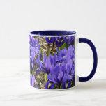 Katherine Hodgkin Irises Blue Purple Spring Floral Mug