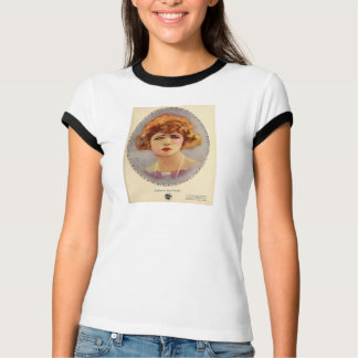 Katherine MacDonald 1922 movie exhibitor ad color T-shirt