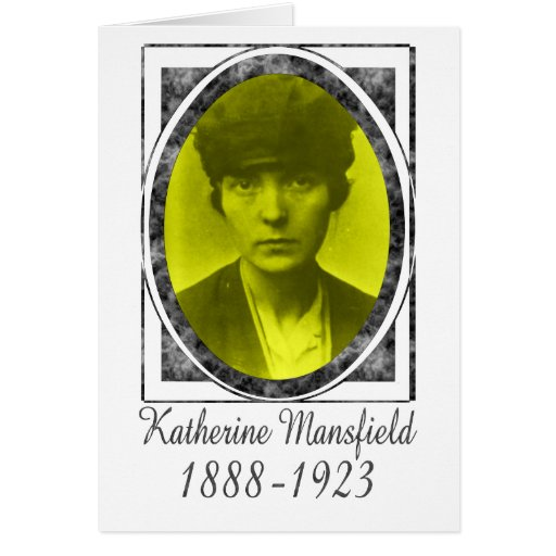 Katherine Mansfield Greeting Card
