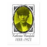 Katherine Mansfield Postcard