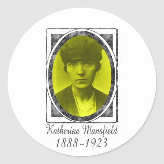Katherine Mansfield Sticker
