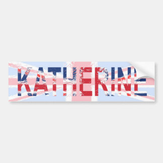 Katherine Pegatina Para Auto