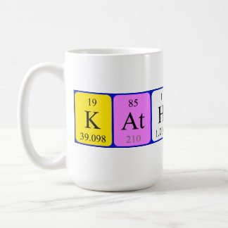 Katherine periodic table name mug