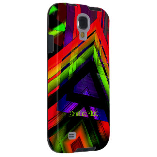 Katherine Samsung Galaxy colorful cases Galaxy S4 Case