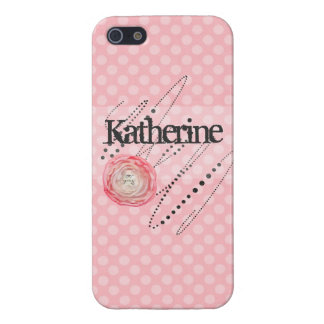 """Katherine"" Sweet and Sassy Phone Case iPhone 5 Cover"