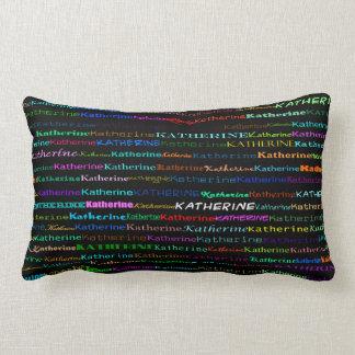 Katherine Text Design I Lumbar Pillow