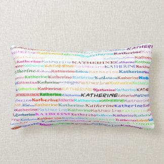 Katherine Text Design II Lumbar Pillow
