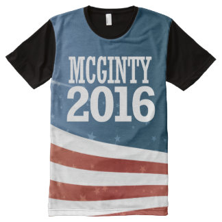 Kathleen McGinty 2016 All-Over Print Shirt