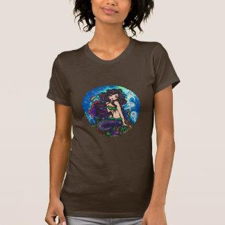 """Kathleen"" Mermaid Jellyfish Ocean Seahorse Fairy T-shirt"