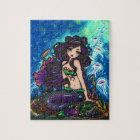 """Kathleen"" Mermaid Jellyfish Puzzle"
