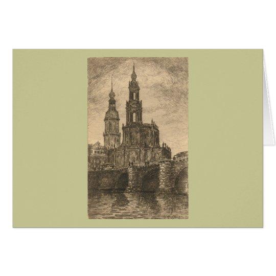 Katholische Hofkirche, Dresden Card