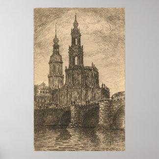 Katholische Hofkirche, Dresden Posters