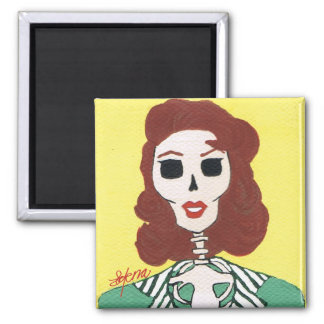 Kathryn 2 Inch Square Magnet