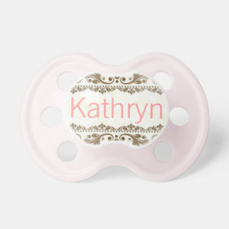 """""""Kathryn"""" Custom Personalized Name Pacifier"""