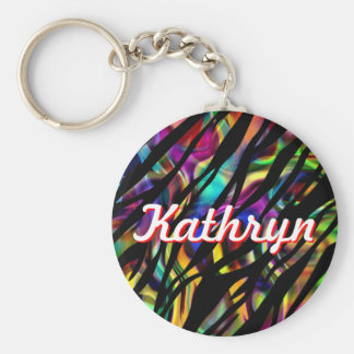Kathryn Personalized Colorful Keychain