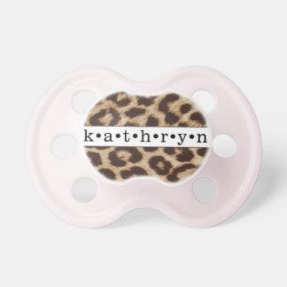 """""""Kathryn"""" personalizó la impresión del guepardo Chupete"""