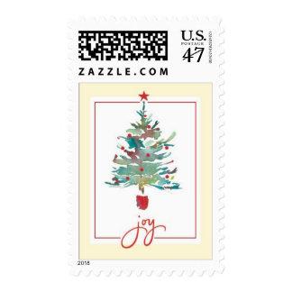 Kathy Davis Christmas Tree Joy Stamp