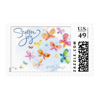 Kathy Davis - Scatter Joy Book Stamp