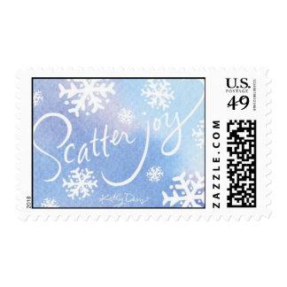 Kathy Davis Scatter Joy Postage