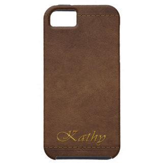 KATHY Leather-look Customised Phone Case