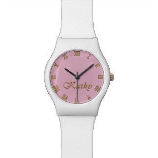 KATHY Name-Branded Customizable Wrist Watch Gift