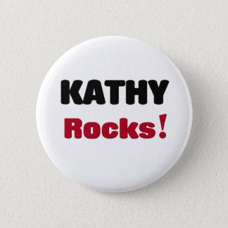 Kathy Rocks Pinback Button