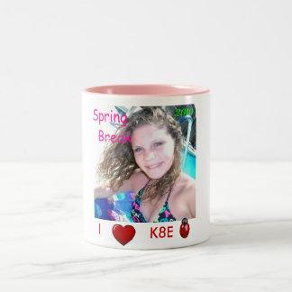 Katie corazón mariquita-ratón I K8E Taza De Café