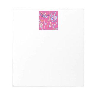 Katie Design Notepad