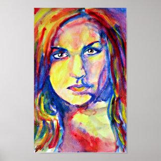 Katie Jo Wiltgen Watercolor Painting Poster Print