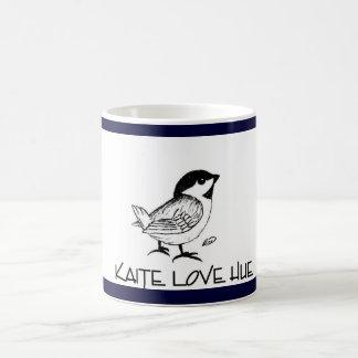 KATIE LOVE HUE MUG BIRD